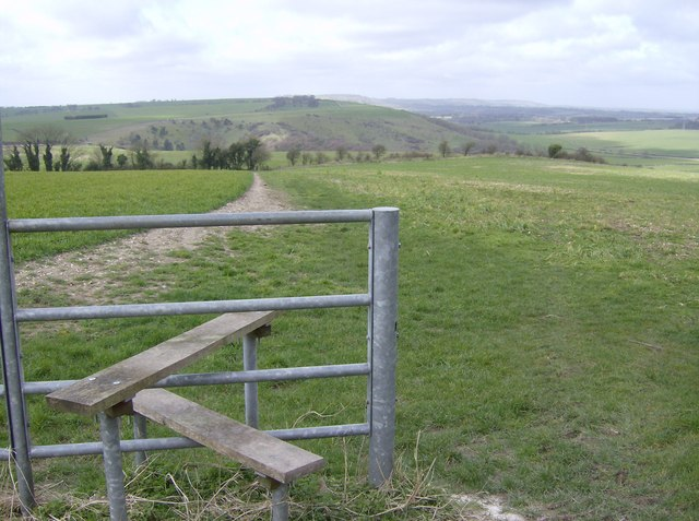 West from Cottington's Hill