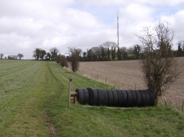 Towards Cottington's Hill