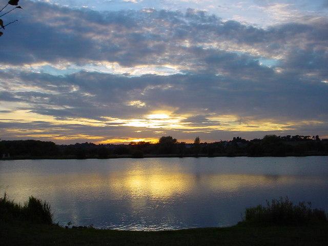 Sunset - Watermead Park