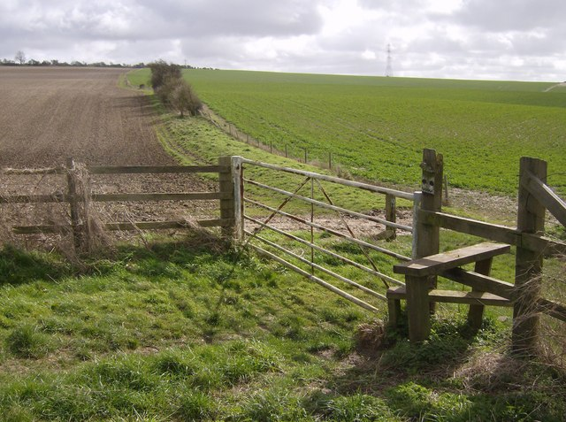 Wayfarer's Walk on Stubbington Down