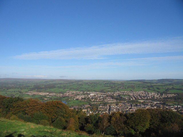 Surprise View looking over Otley