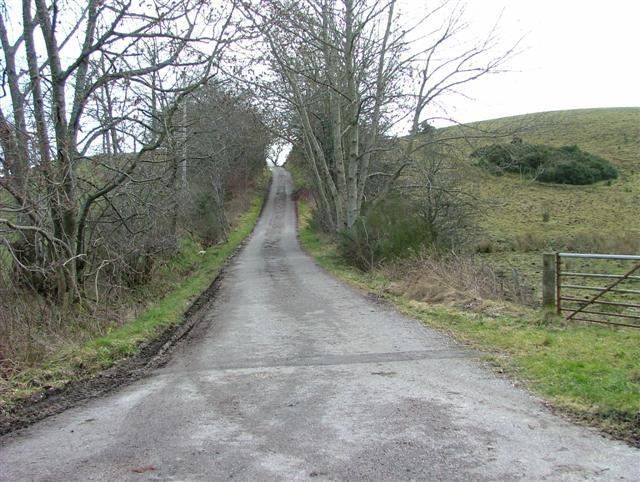Road to Balavulich Farm