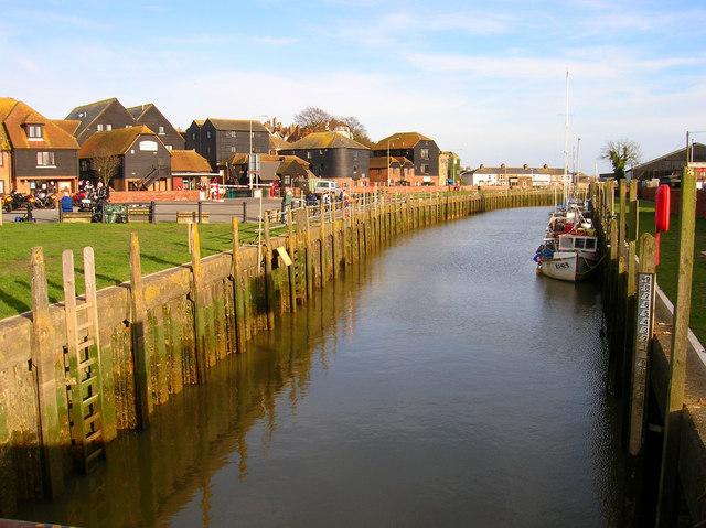 River Tillingham at Strand Quay