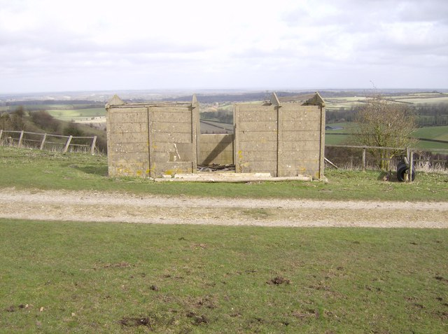The Hut on Cannon Heath Down