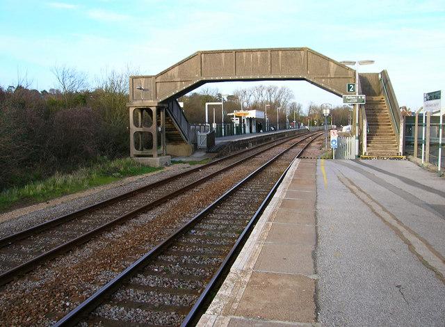 Platform 1, Rye Station