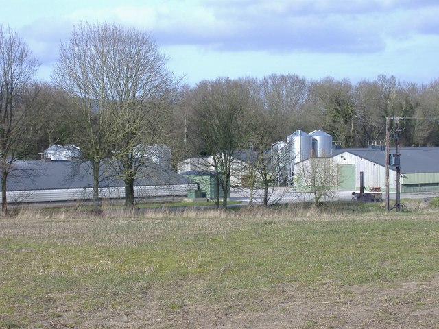 Hunton battery farm