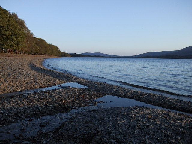 Loch Lomond, East side looking southwest