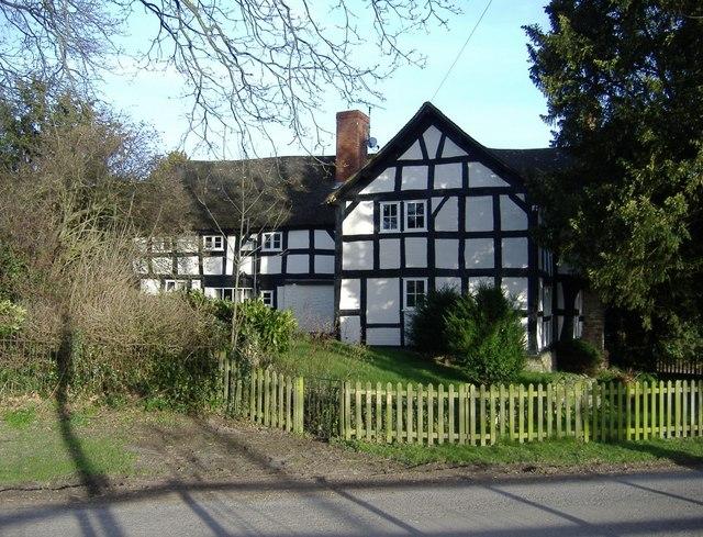 Oak-framed cottage, Marston