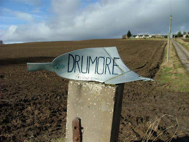 Sign for Drumore Farm