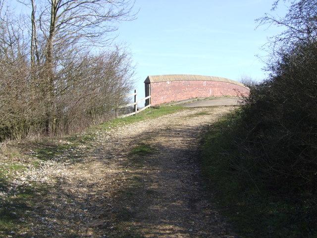 Track over Railway Bridge