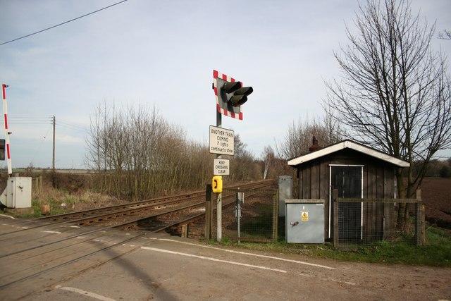 Eagle Barnsdale Level Crossing