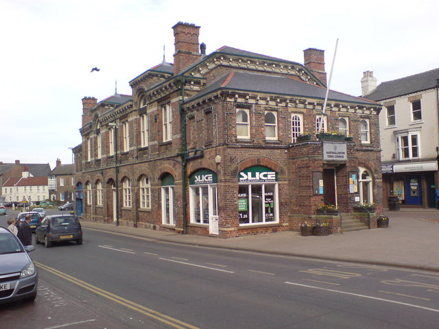 The old Town Hall, Northallerton