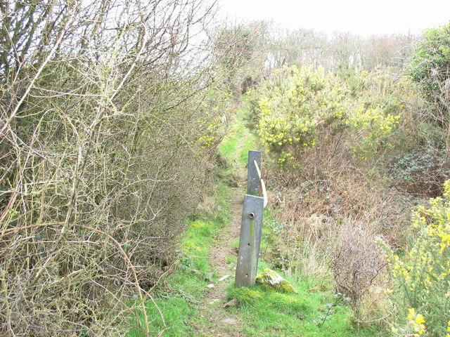 Another footbridge on the quarrymen's path