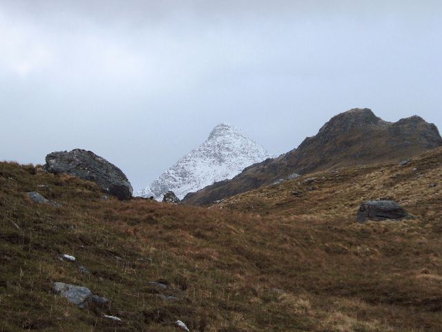 Top (760) on the west ridge of Sgurr na Ciche