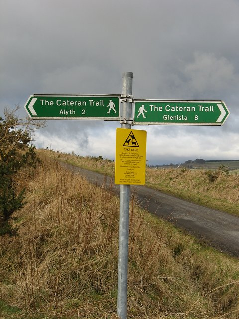 Perth and Kinross sign