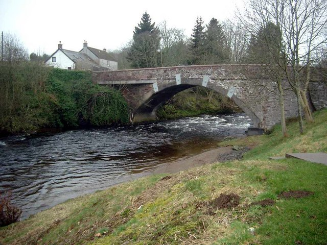 Bridge over the River Isla