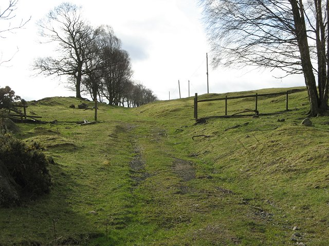 Old road to Alyth