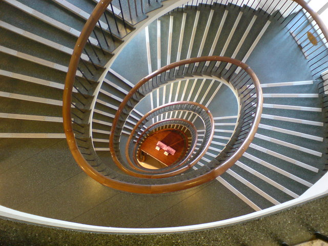 Spiral Staircase, Binn's Department Store