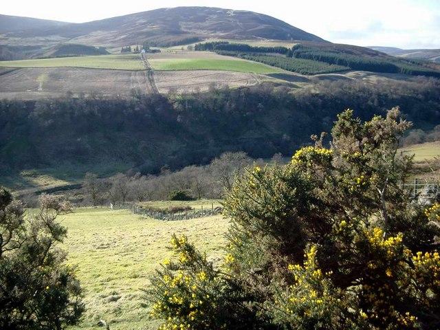 Lower reaches of Glen Prosen