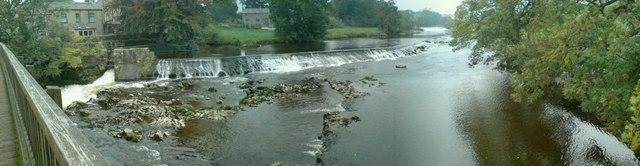 Weir, Linton Falls