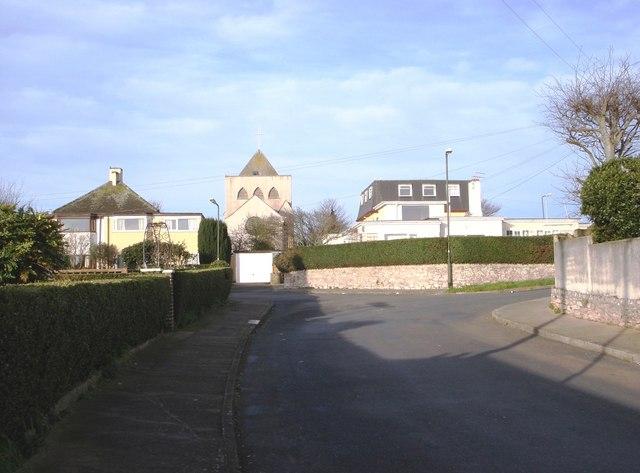 Oyster Bend, Goodrington. St  George's Church