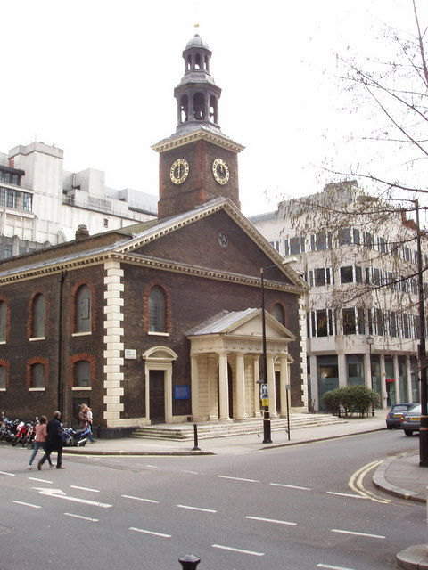 Saint Peter Vere Street - London Institute for Contemporary Christianity