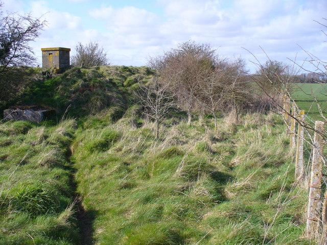 Reservoir West of Addestone Farm