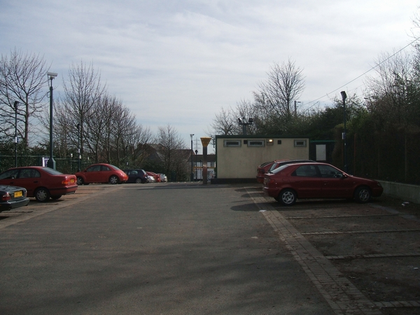 Dudley Port Station - Booking office and car park