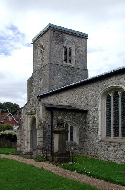 St Mary, Wallington, Herts - Tower & porch