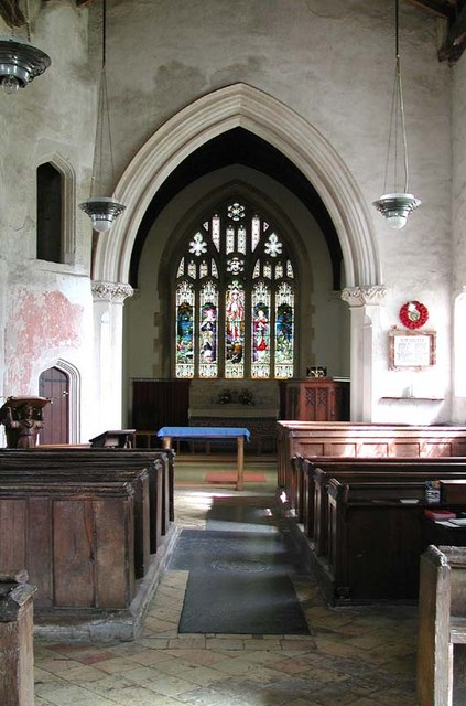 St Mary, Wallington, Herts - East end