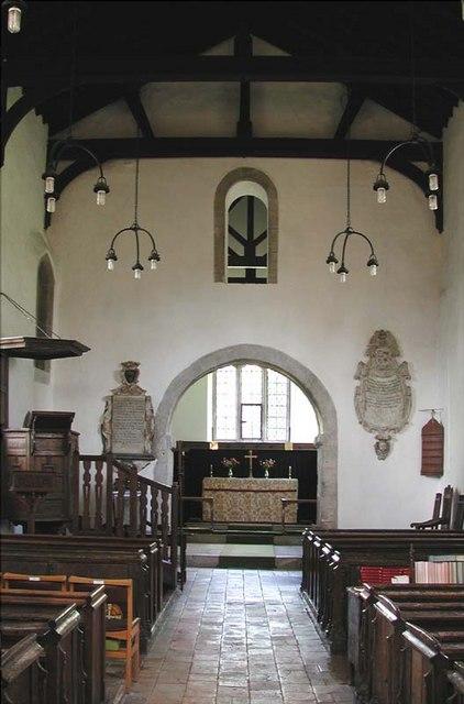 St Nicholas, Norton, Herts - East end