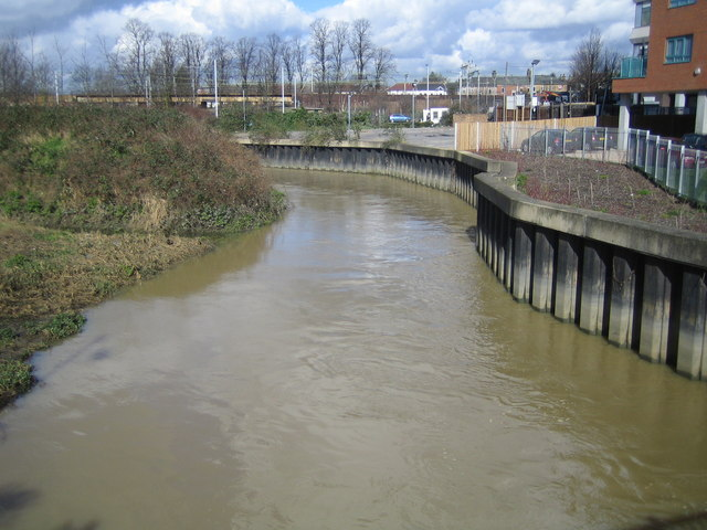 River Roding in Ilford