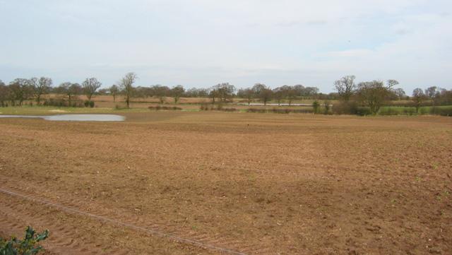 Ploughed field near Corra Bank
