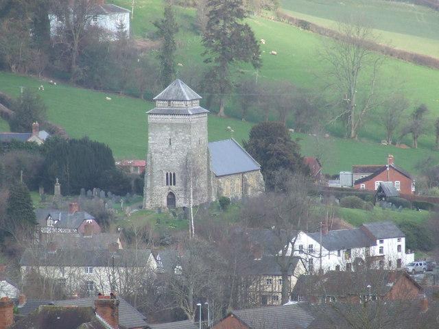 St Beuno's church Bettws Cedewain