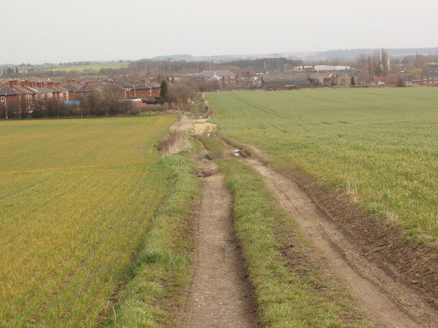 Bridleway from South Hiendley to Kinsley