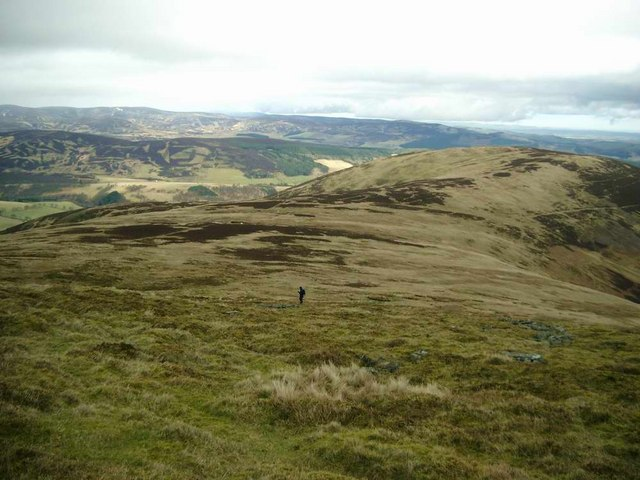 The east ridge of Cat Law