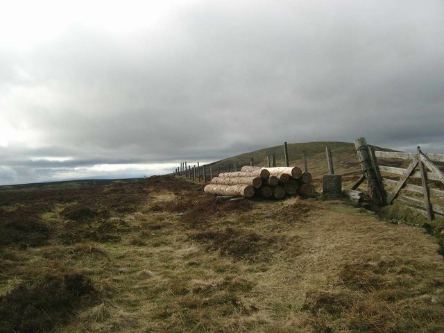 The summit of Long Goat