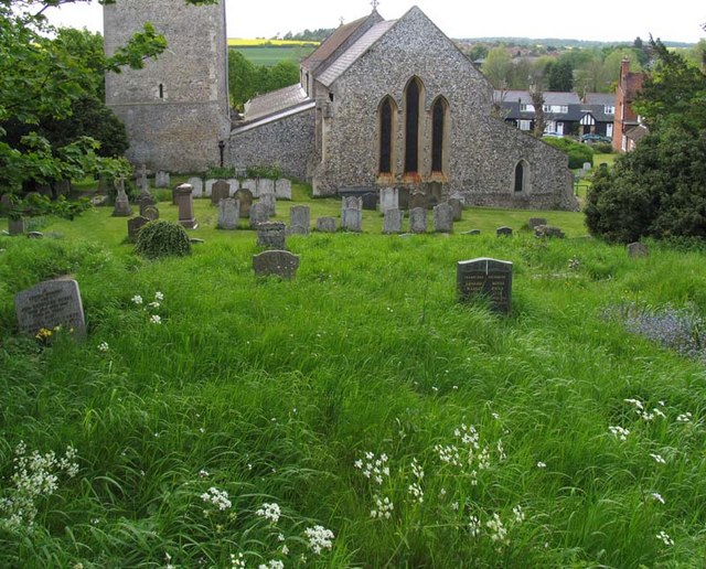 St Mary, Standon, Herts - Churchyard