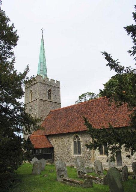 St John the Baptist, Widford, Herts