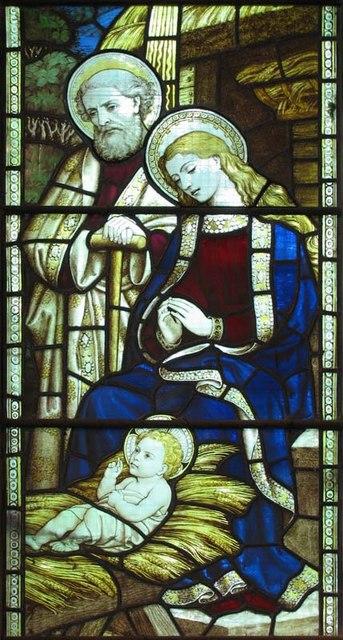 St John the Baptist, Widford, Herts - Window