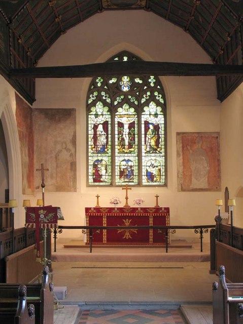 St John the Baptist, Widford, Herts - Chancel