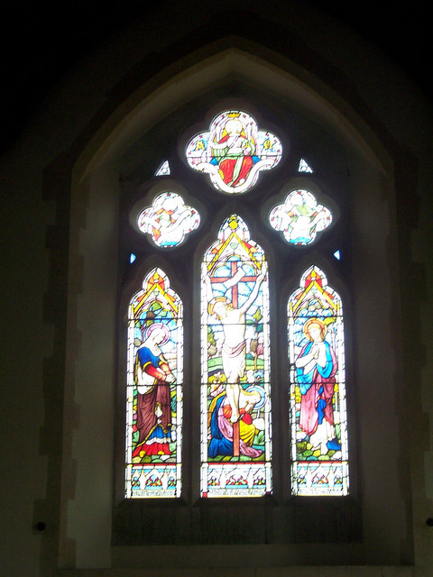 All Saints Church, Stour Row - Stained Glass Window