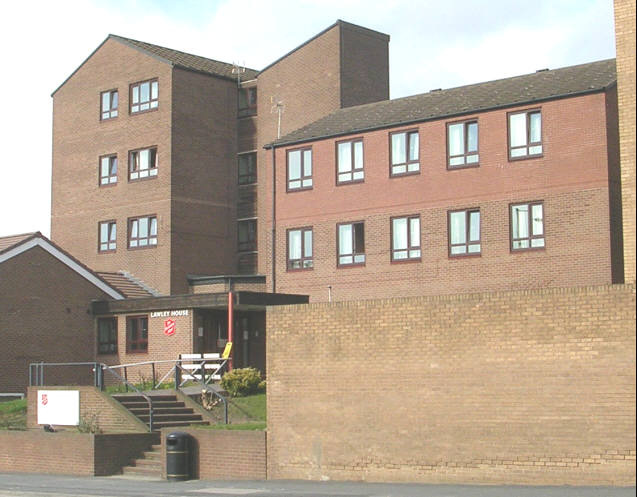 Lawley House - Salvation  Army Hostel - Leeds Road