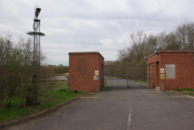 Entrance to Rare Ltd HQ, Manor Park