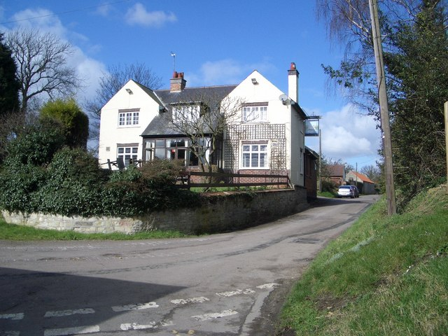 The Swan Public House at Newton Bromswold