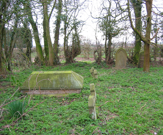 Cemetery south of Ightfield