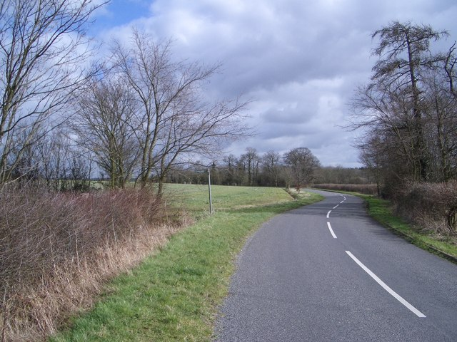 The Three Shire Bridleway near Knotting