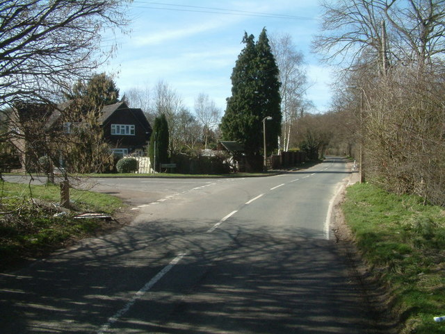 Monkswell Lane junction with Chipstead Lane