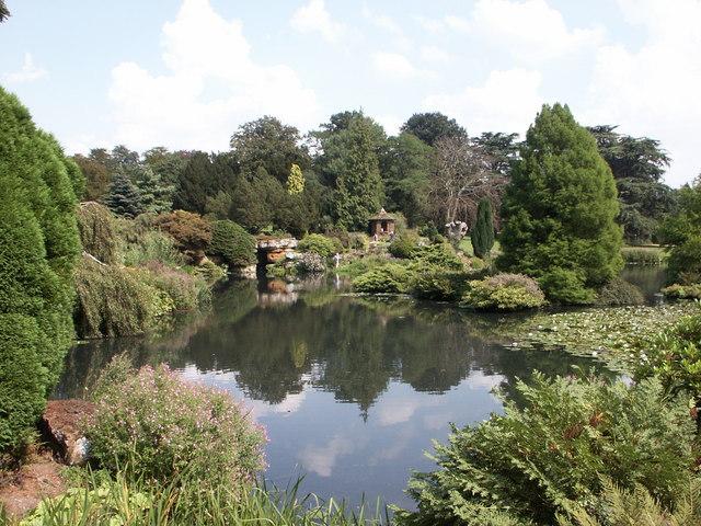 Sandringham House - Top Lake and Gardens