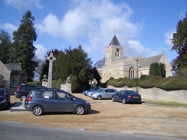 Turvey Village Centre and All Saints Church